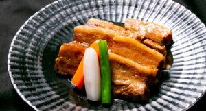琉香豚の煮豚 - 牛屋銀兵衛